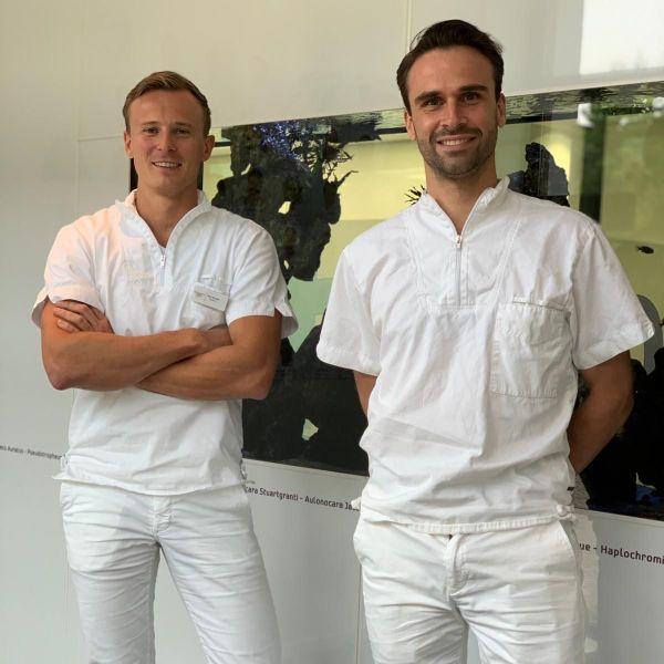 Vertrek tandartsen Nico de Boer en Guus Kanters